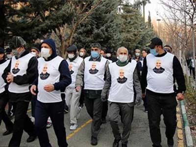 Post site 1436 - همایش پیادهروی به مناسب سالروز شهادت سپهبد حاج قاسم سلیمانی